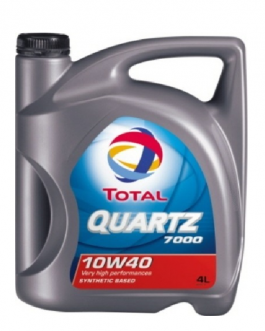 ACEITE TOTAL QUARTZ 7000  4L