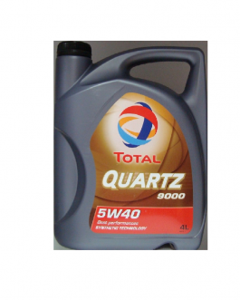 ACEITE TOTAL QUARTZ 9000  4L